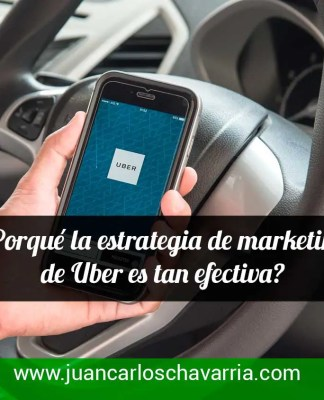 Porque la estrategia de uber en costa rica es tan efectiva