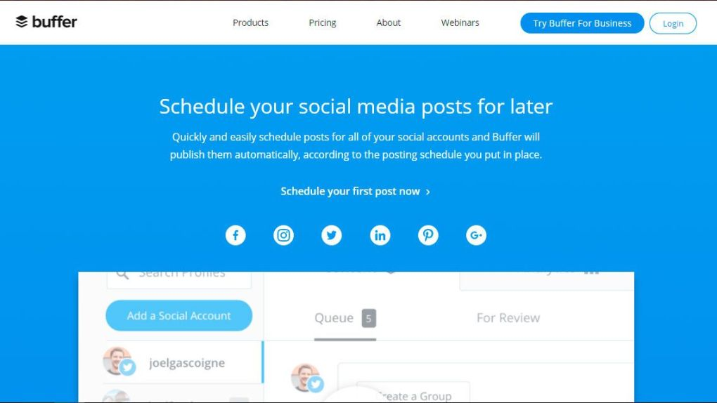 Cómo utilizar la automatización de redes sociales buffer