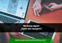 Marketing digital: ¿Quién debe manejarlo?
