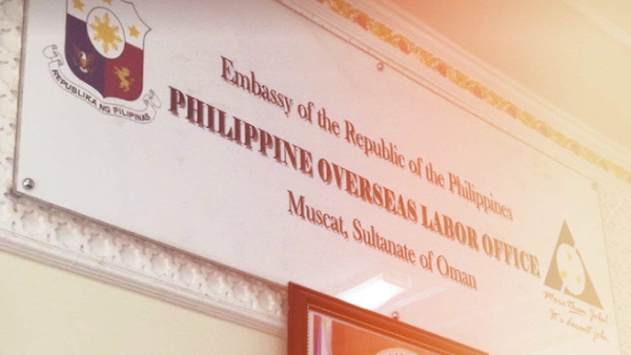 Basic Rights of Filipino Workers deployed in Oman