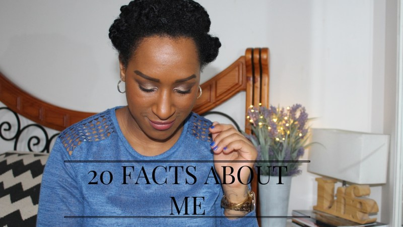 """""""20 Facts About Me"""" 