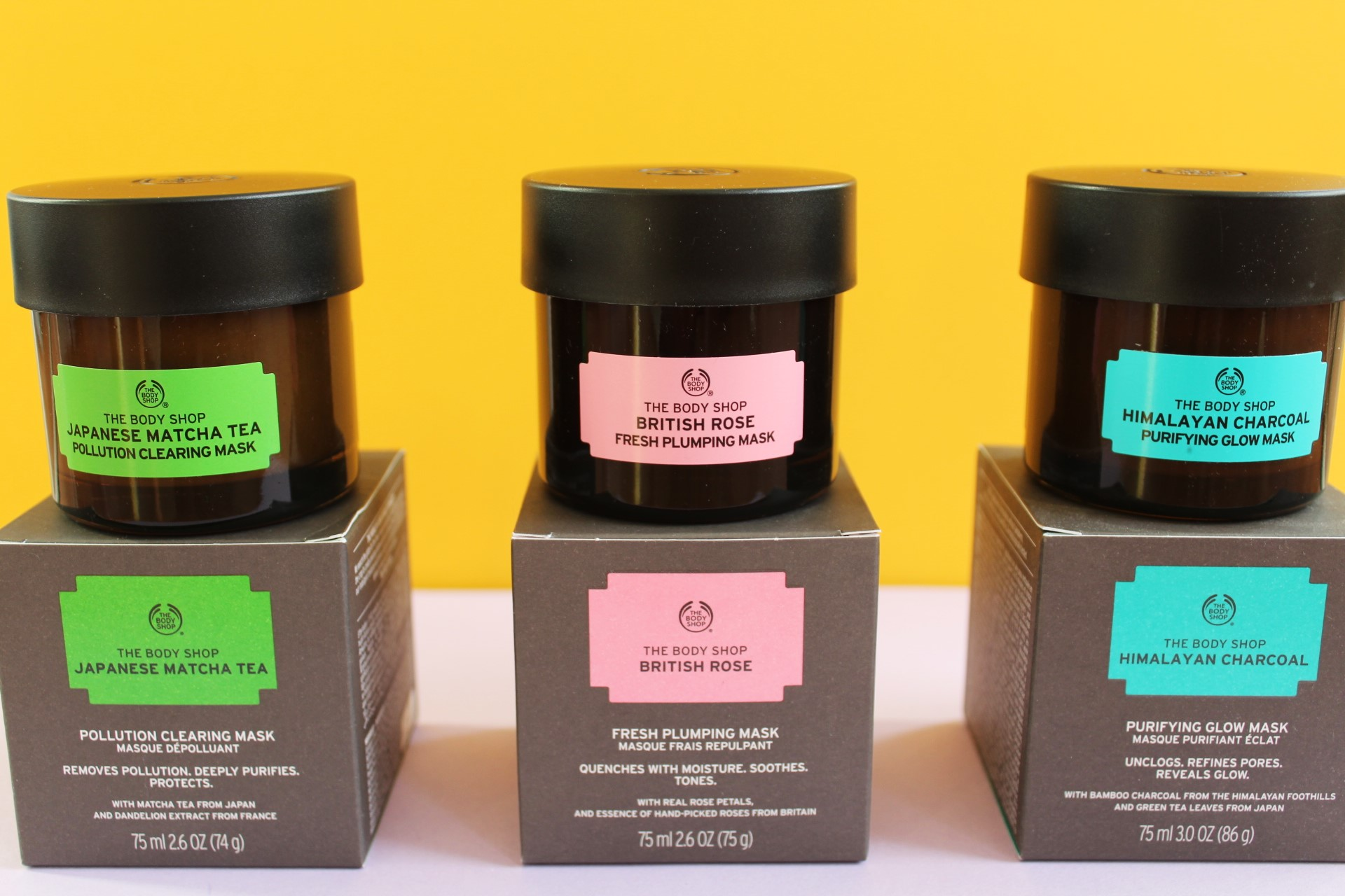 face mask body shop