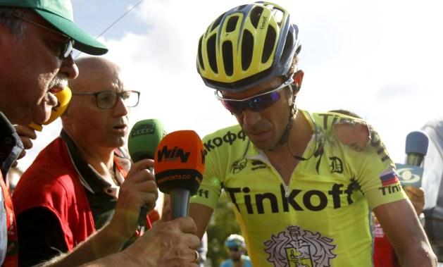Contador se estrelló, otra vez, contra el mal fario.