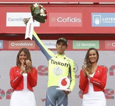 Justicia divina. Contador, en el podio.