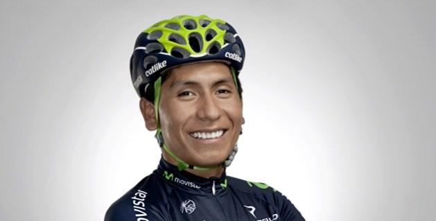 Nairo Quintana, en modo galán.