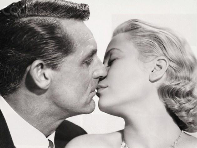 Cary Grant y Grace Kelly. Ciglogénesis de belleza.