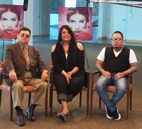 quintanilla family approves of to selena with love