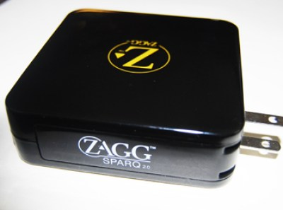 Zagg portable usb charger Radio Shack