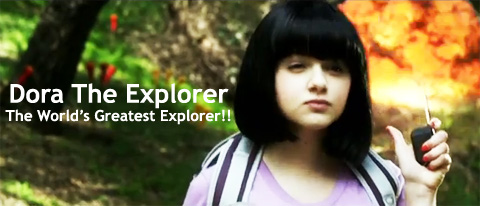 Dora the Explorer movie trailer juanofwords