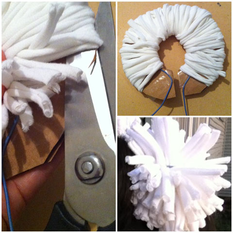 Last Minute Do-It-Yourself Halloween Accessories pom poms juanofwords la_anjel anjelica