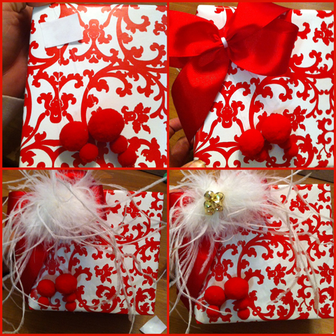 12 days of christmas traditional gift wrapping with nontraditional materials la_anjel craftythrifter juanofwords