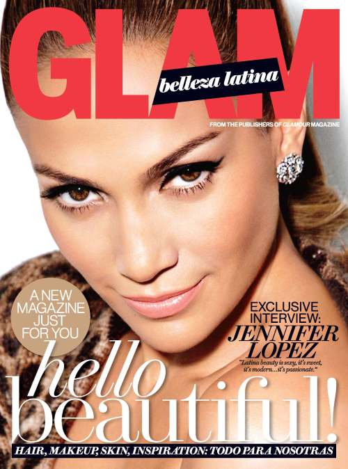 Glam Belleza Latina Cover Jennifer Lopez juanofwords