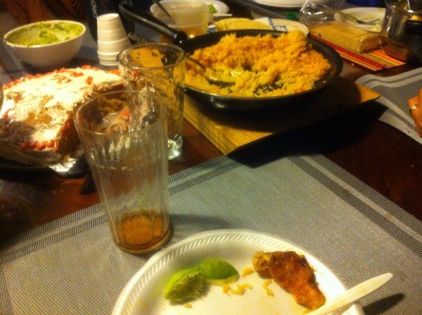 because my mexican mother said so eat all the food on your plate