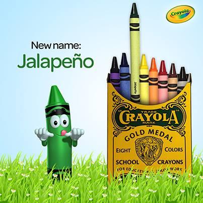 jalapeno green crayola juanofwords