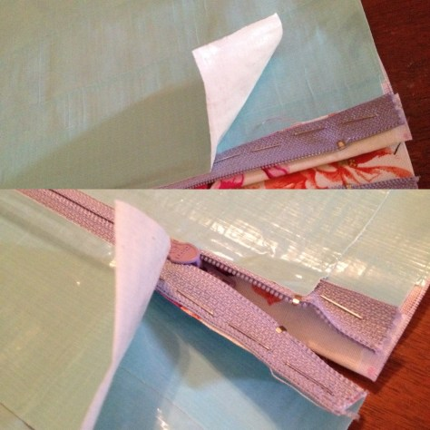 crafting with anjelica craftythrifter duck tape clutch juanofwords