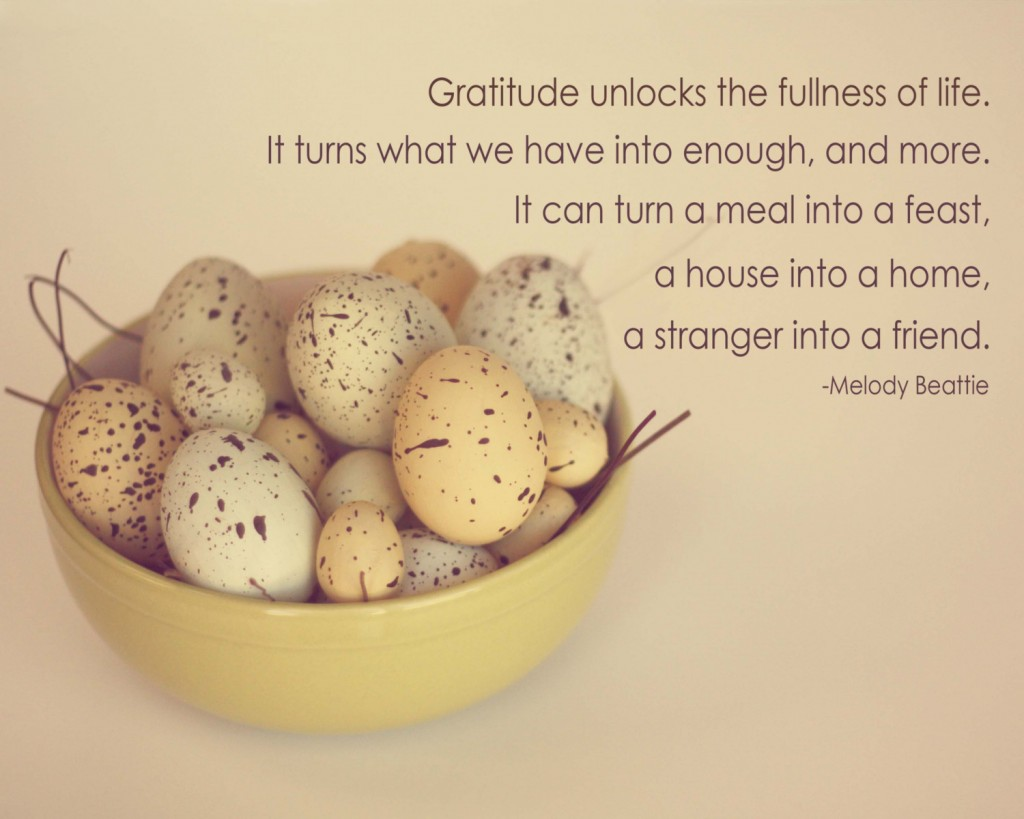 10 Inspirational Quotes for Thanksgiving