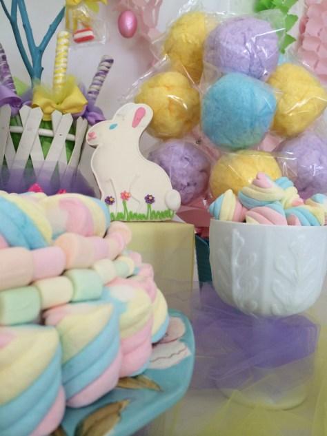 Thrifty Easter centerpiece