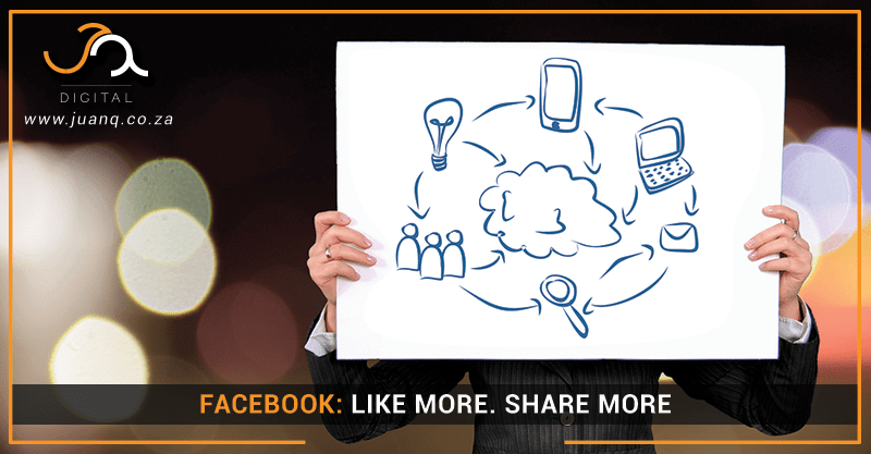 Facebook: Like More, Share More