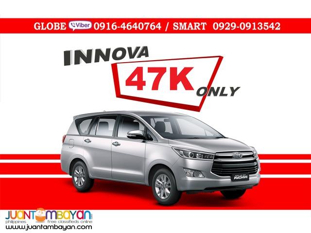 2016 Toyota Innova 28 E Dsl AT Diesel Automatic 47K All