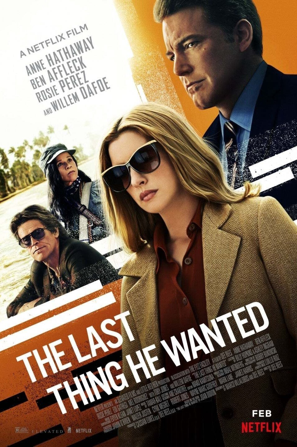 The Last Thing He Wanted (2020) HD
