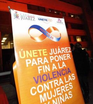 Iluminan Color Naranja Por Día de Eliminación de Violencia de Género