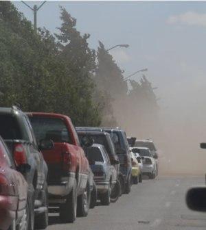 Reportan Saldo Blanco Tras Fuertes Vientos