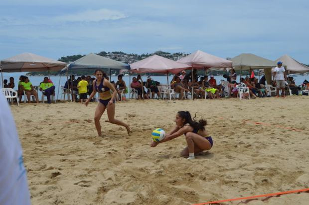Volibol Playa Olimpiada Nacional 2016