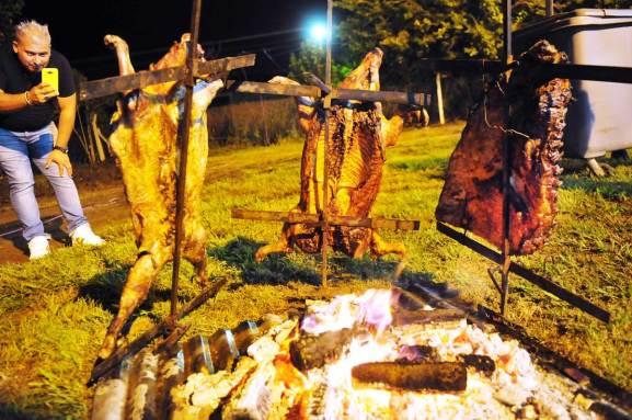 Fiesta criolla en Estación Juárez Celman 11