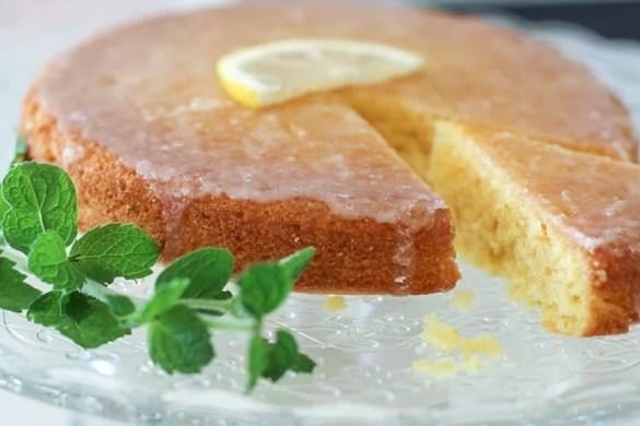 Rezept für Lemon Drizzle Cake einfach und lecker