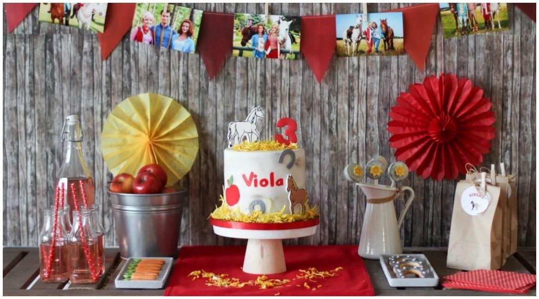 Bibi und Tina Pferdeparty zum Geburtstag  mit Sweet Table  Jubeltage
