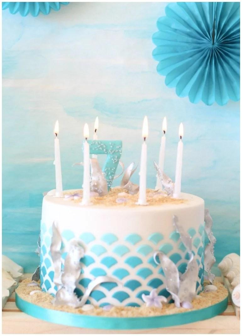 Ein Meerjungfrau Geburtstag mit vielen DIY Ideen zum Basteln