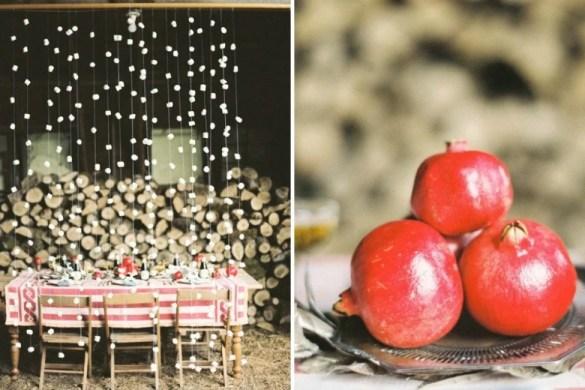 Gemütlicher Winterabend mit heißer Schokolade und Marshmallows