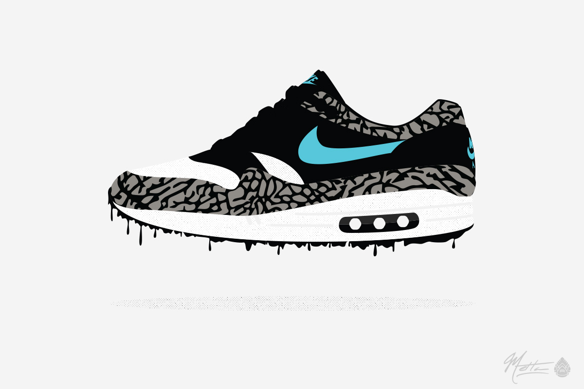 Air Max Vector Illustrations for Air Max Month – Juberry