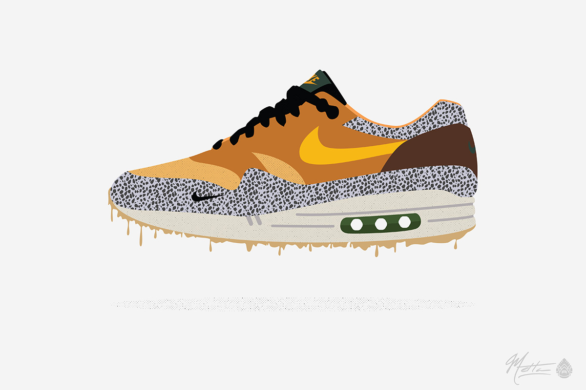 newest aebc2 b4829 shop am 1 atmos x air max 1 safari 7faaa 219dd