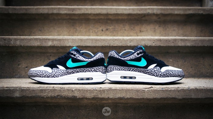 "[Review w/ on-feet video] Better late than never: the atmos x Air Max 1 ""Elephant""!"