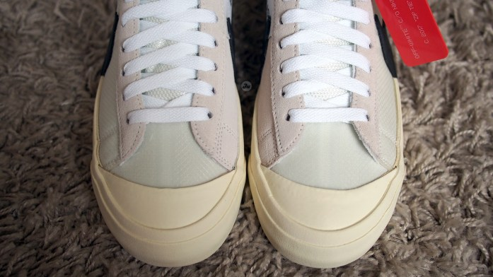 """""""REVIEW"""" The Ten: Nike Blazer Mid """"OFF-WHITE"""" [with on-feet video]"""