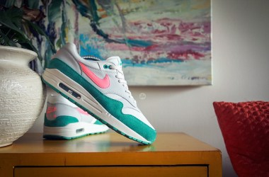 "Latest pickup: Air Max 1 ""Watermelon"", a delicious summer-ready colourway"