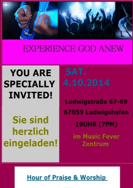 Hour of Praise & Worship Event