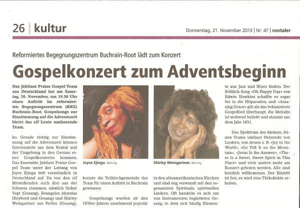 Presse_Switzerland 2013