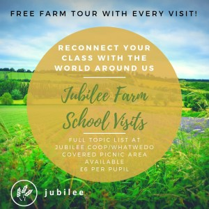 What we do is Jubilee Farm school visits. Contact us to inquire today.