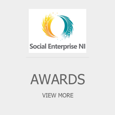 Awards button between creation care and awards page.