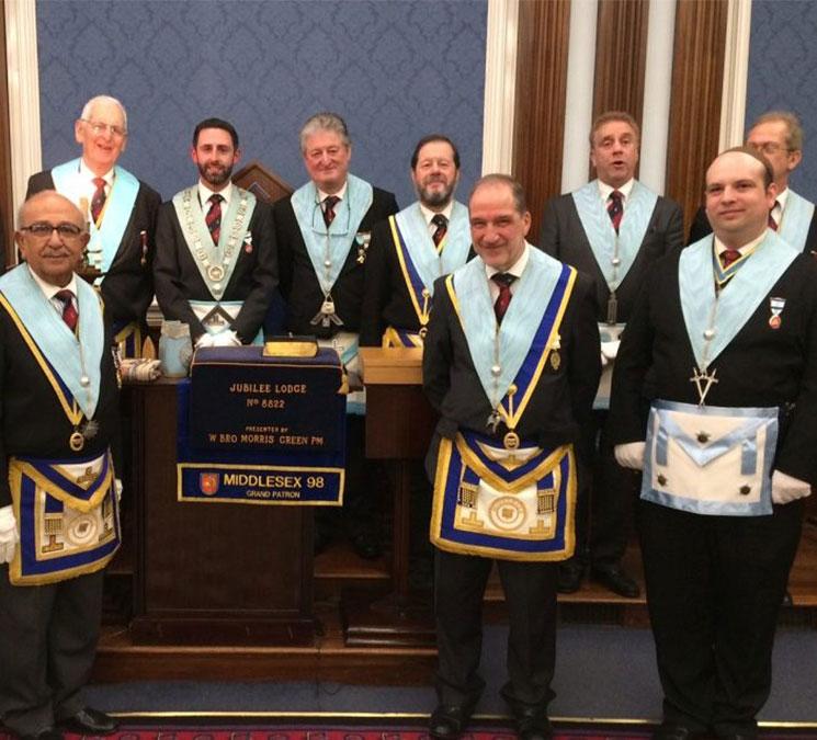 Jubilee Lodge 8822 Freemasons
