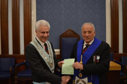 March meeting of the Jubilee Lodge