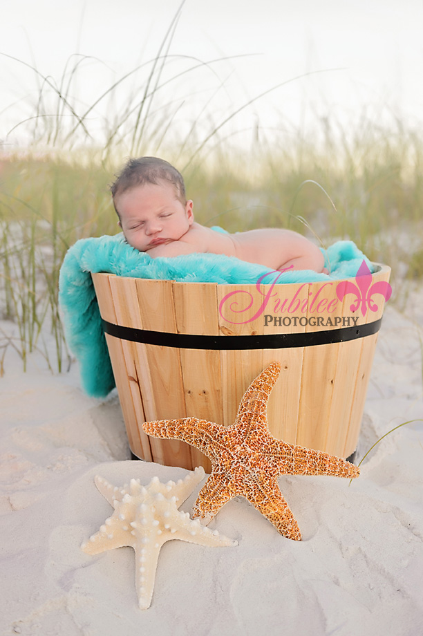 Beach Newborn Photography