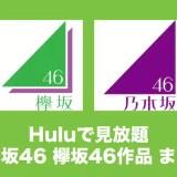 hulu 乃木坂 欅坂