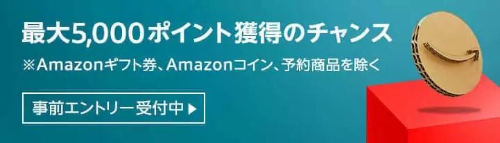 amazon サイバーマンデー ポイント