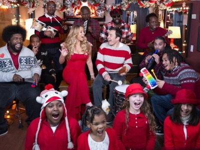 Mariah-Carey-All-I-Want-For-Christmas-Is-You-Jimmy-Fallon-The-Roots