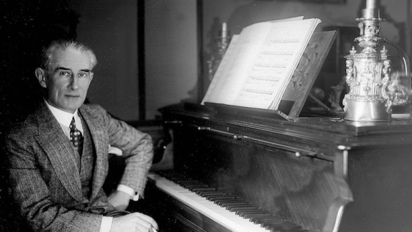 Maurice Ravel (1875-1937), French composer. LIP-16