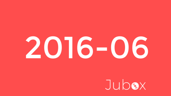 Juin 2016 - Playlist