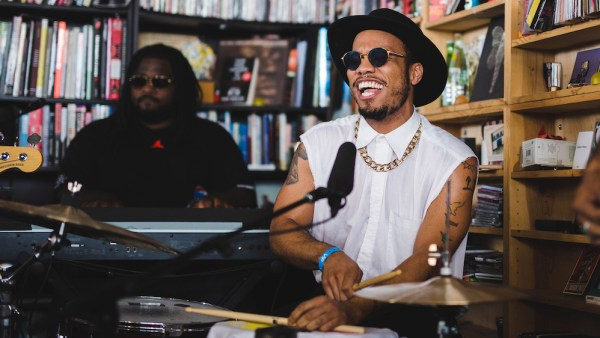 Tiny Desk Concert with Anderson .Paak